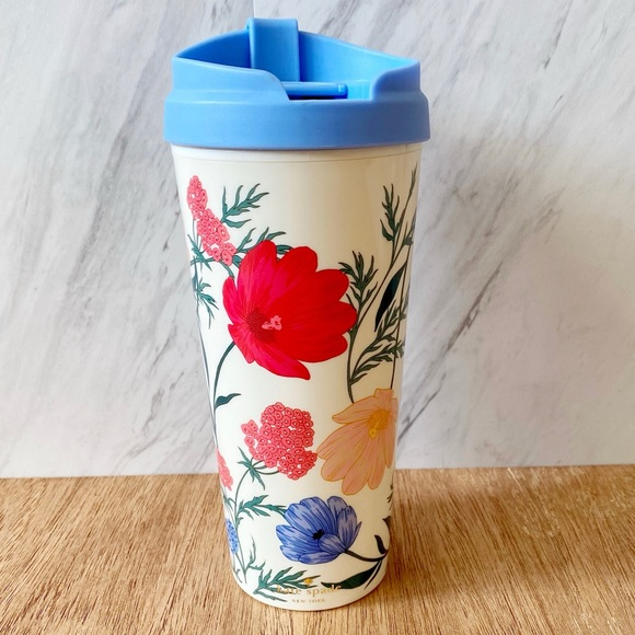 Kate Spade New York Blossom Thermal Travel Mug